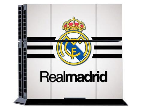 Image of   Real Madrid Hvidt Skin til Playstation 4