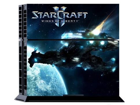 Starcraft Skin til Playstation 4