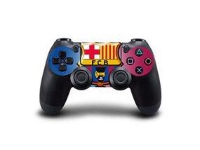 Image of   FC Barcelona Skin til PS4 controller