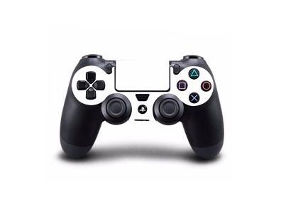 Hvidt Skin til Playstation 4 controller