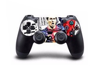 Billede af Lionel Messi Skin til Playstation 4 controller