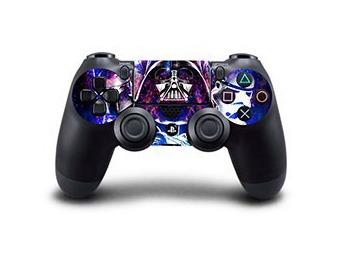 Image of   Blå Star Wars Battlefront Skin til PS4 controller