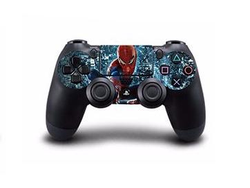 Spiderman Skin til Playstation 4 controller