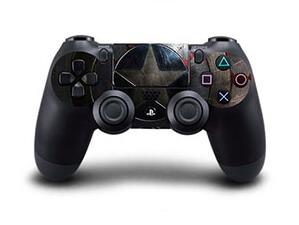 Image of   Captain America Skin til Playstation 4 controller