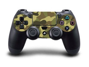 Carmouflage Skin til Playstation 4 controller