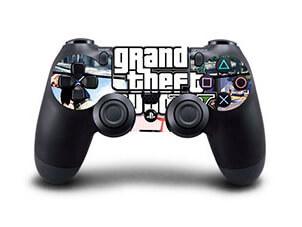 Image of   GTA V Skin til Playstation 4 controller
