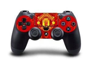 Image of   Manchester United Skin til Playstation 4 controller