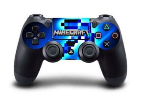Image of   Minecraft Skin til Playstation 4 controller