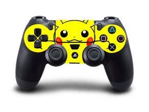 Image of   Pikachu Skin til Playstation 4 controller