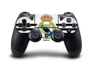 Image of   Real Madrid Hvidt Skin til Playstation 4 controller