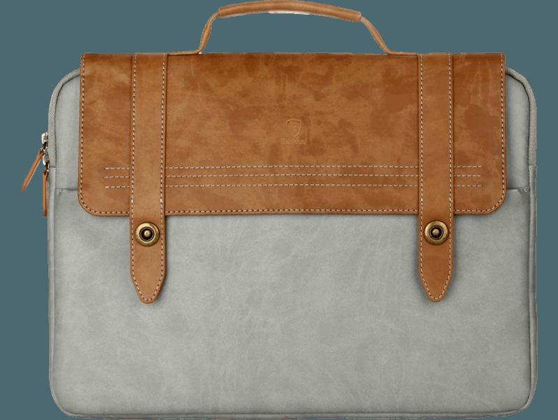 "Image of   Cardiff taske i PU læder til bærbar 13"""
