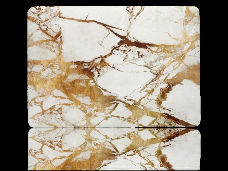 "Image of   Marmor cover til MacBook Air 13"" Retina-Guld"