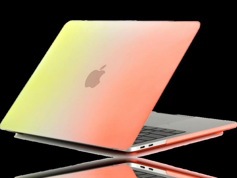"Mermaid Cover til MacBook Pro 13"" Ultimo 2016/2017/2018/2019-Gul"