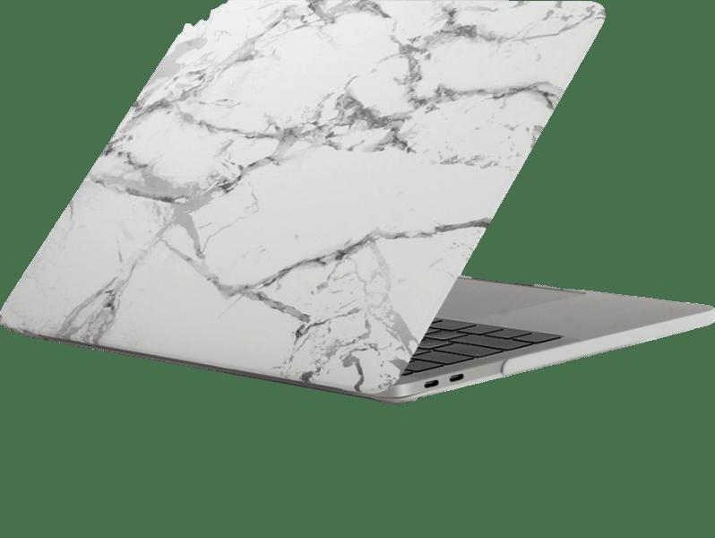"""Image of   Marmor cover til MacBook Pro 13"""" 2016-Hvid"""