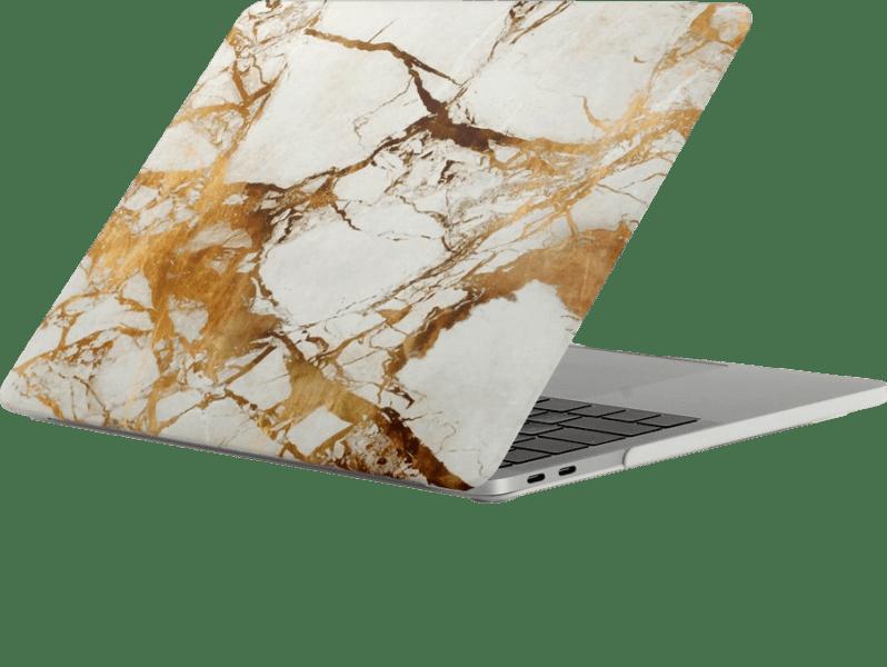"""Image of   Marmor cover til MacBook Pro 13"""" 2016-Guld"""