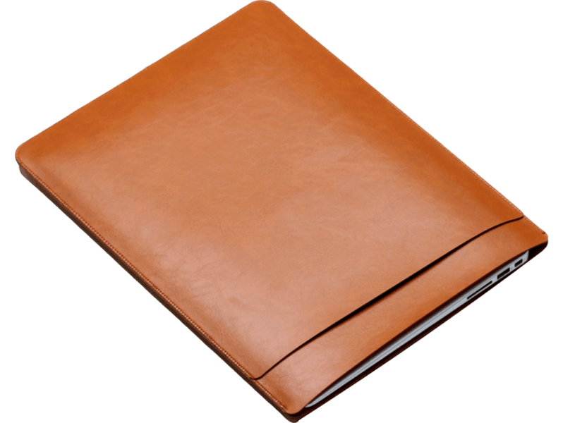 "Image of   Galway Macbook 13"" sleeve-Brun"