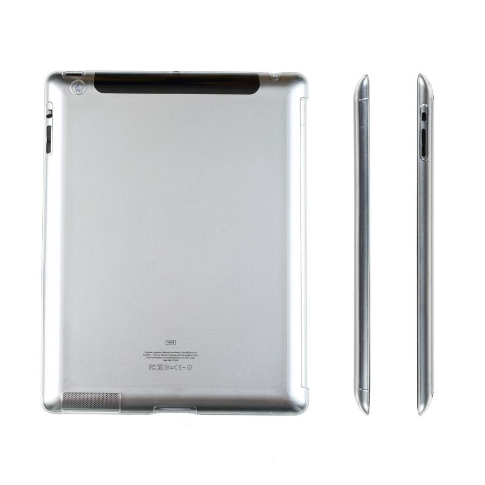 Crystal Cover til iPad 2 / 3 / 4-Gennemsigtig