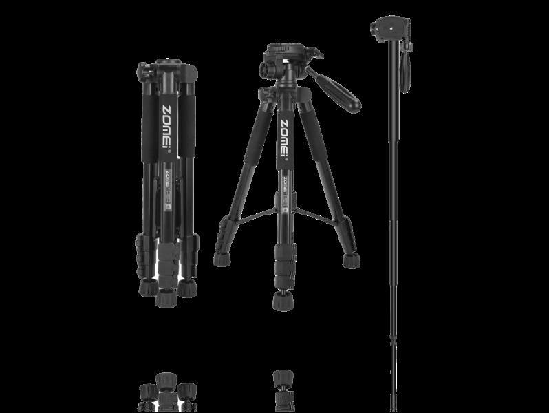 Image of   2-i-1 Tripod / Monopod Stativ til Kamera (47-143cm)