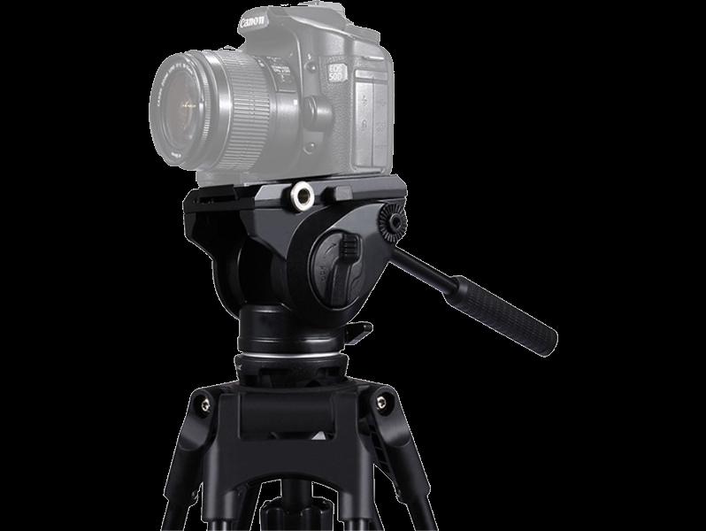 Image of   Stativhoved m. oliedæmpning til DSLR Kamera