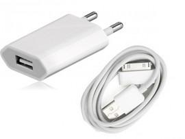 Billede af iPhone 4/4S oplader (iPad 2/3)