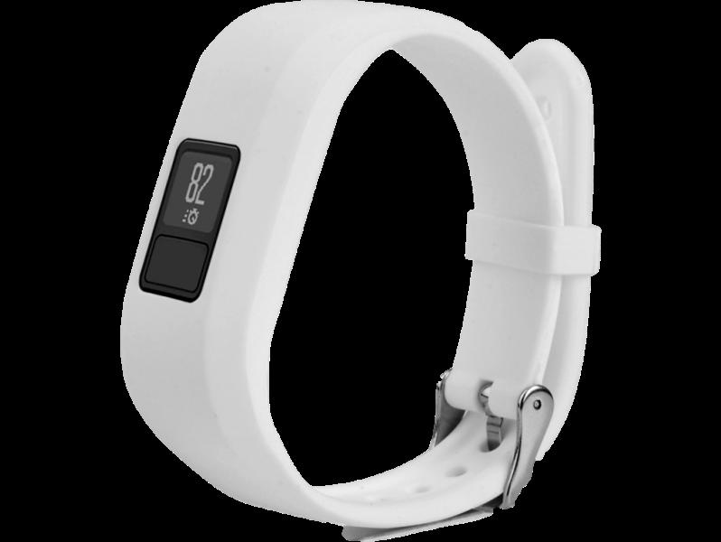 Image of   Silicone rem til Garmin Vivofit 3-Hvid