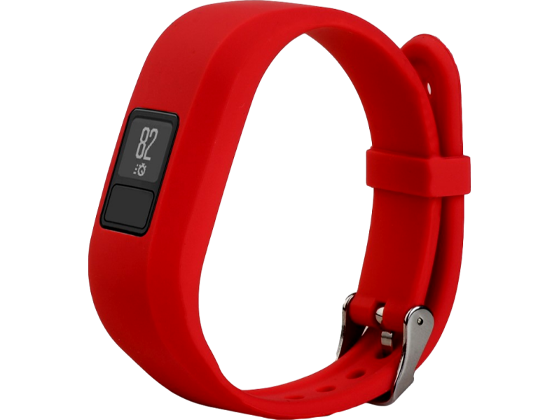 Image of   Silicone rem til Garmin Vivofit 3-Rød