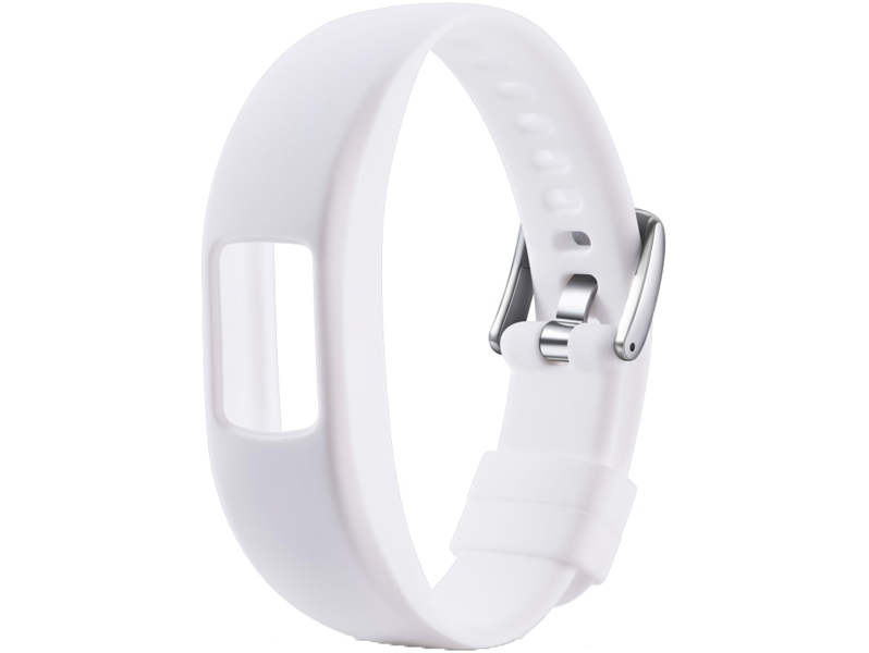 Image of   Silicone rem til Garmin Vivofit 4-Hvid