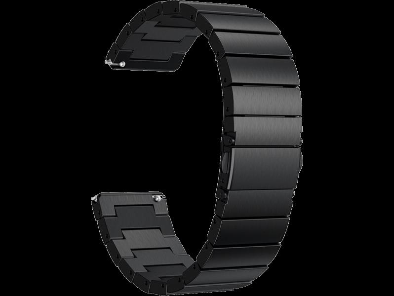 Image of   Arezzo rem til Fitbit Versa / Versa Lite / Versa 2-Sort