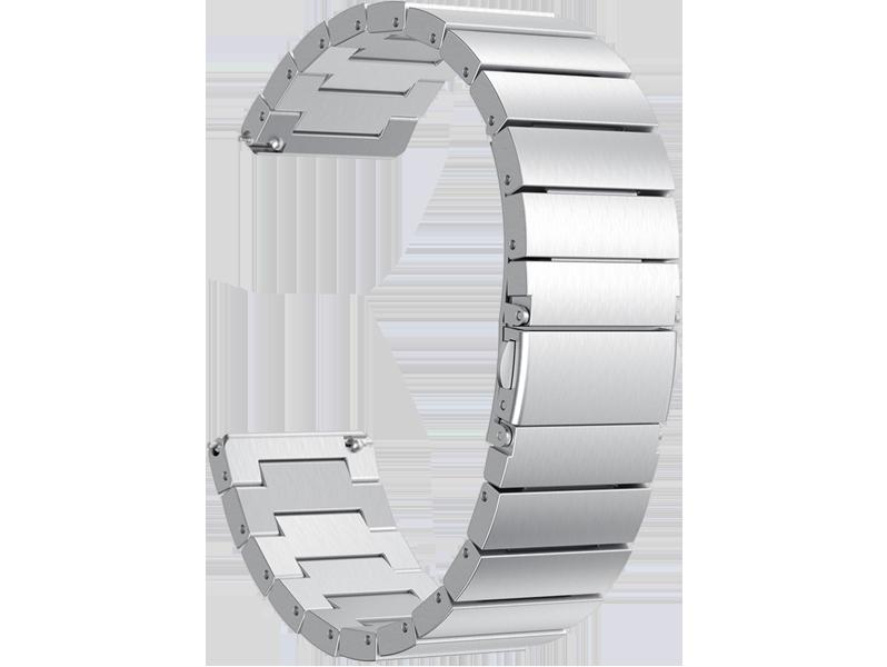 Image of   Arezzo rem til Fitbit Versa / Versa Lite / Versa 2-Sølv