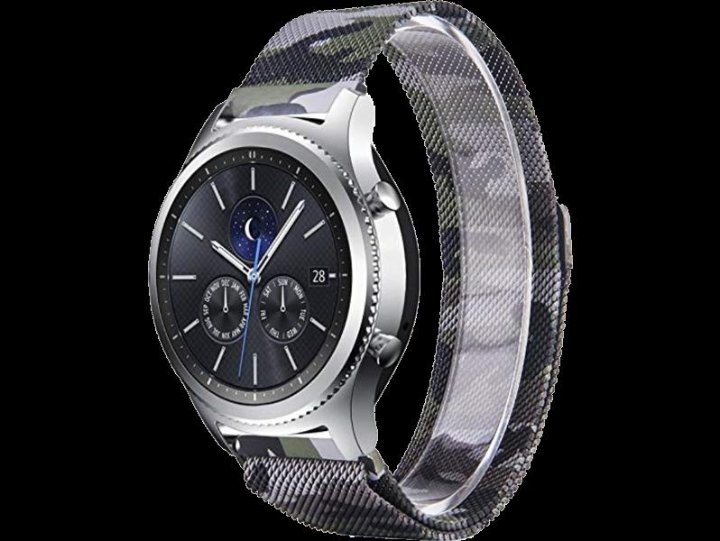 Camo rem til Samsung Gear S3 / Galaxy Watch 46mm-Camouflage