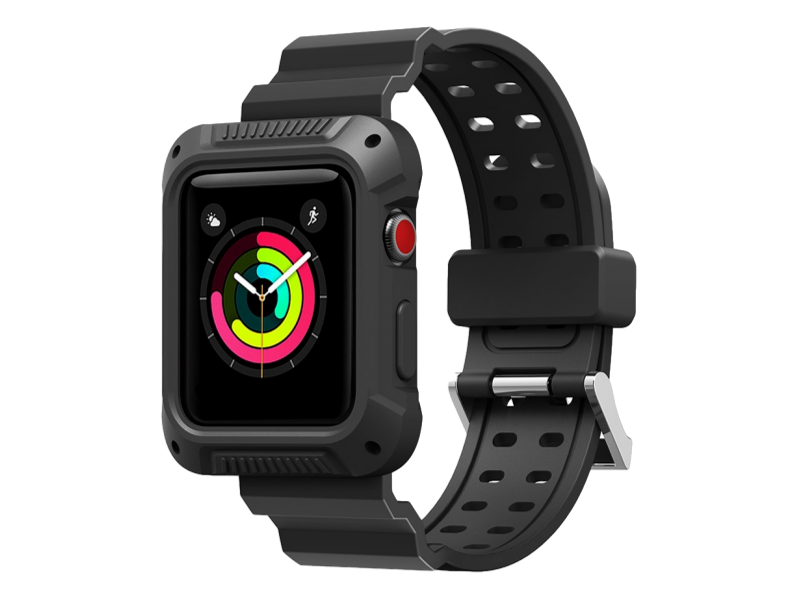 Image of   Baseu Gummi Rem til Apple Watch -38/40 mm