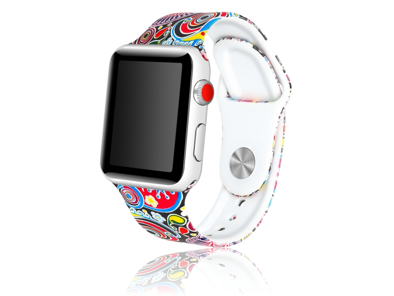 Image of   Artigas rem i Genuine Læder til Apple Watch 1 / 2 / 3 / 4 / 5 42mm & 44mm-Blå