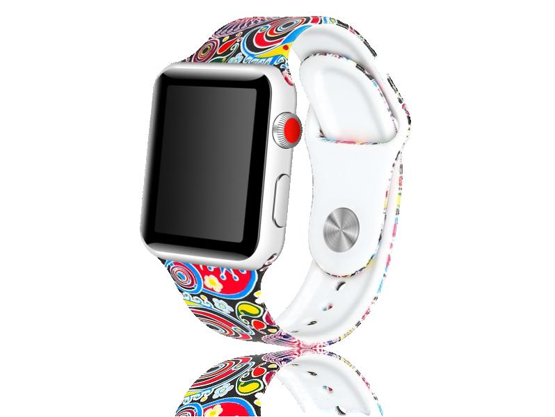 Image of   Artigas rem i Genuine Læder til Apple Watch 1 / 2 / 3 / 4 / 5 42mm & 44mm-Blå