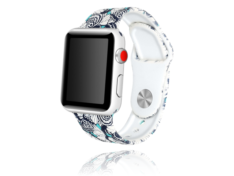 Image of   Artigas rem i Genuine Læder til Apple Watch 1 / 2 / 3 / 4 / 5 42mm & 44mm-Mørkegrå