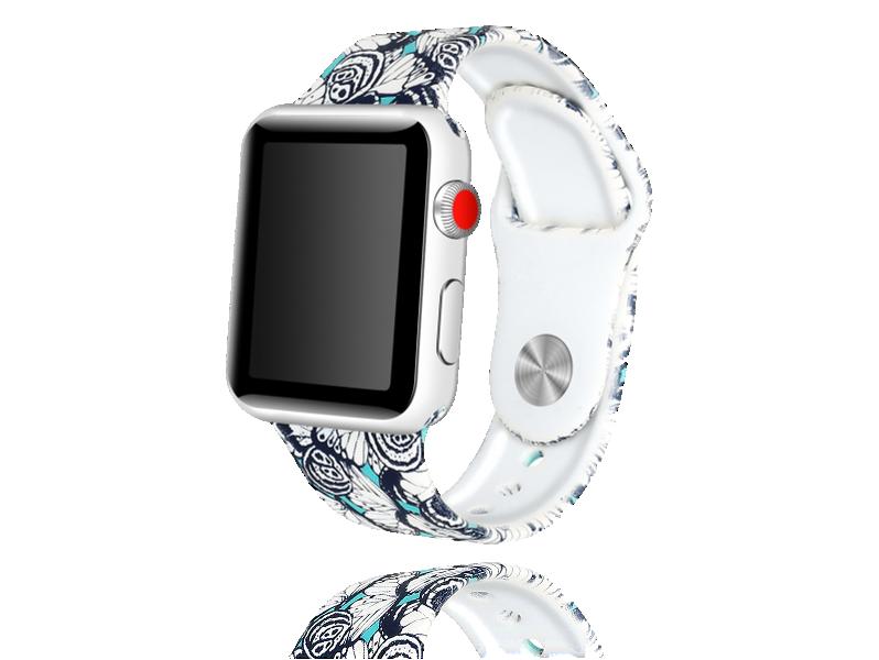 Image of   Artigas rem i Genuine Læder til Apple Watch 1 / 2 / 3 / 4 / 5 38mm & 40mm-Mørkegrå