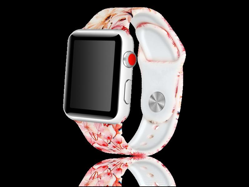 Image of   Artigas rem i Genuine Læder til Apple Watch 1 / 2 / 3 / 4 / 5 38mm & 40mm-Rosa