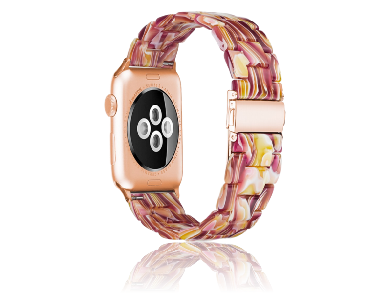 Image of   Bellissima urlænke til Apple Watch 1 / 2 / 3 / 4 / 5 42mm & 44mm-Pink
