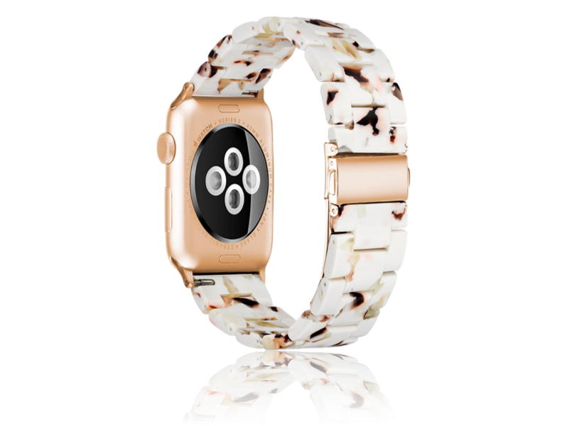 Image of   Bellissima urlænke til Apple Watch 1 / 2 / 3 / 4 / 5 42mm & 44mm-Hvid