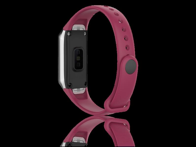 Evermart Silicone Rem Til Samsung Galaxy Fit-Rød Samsung Galaxy Fit - R370