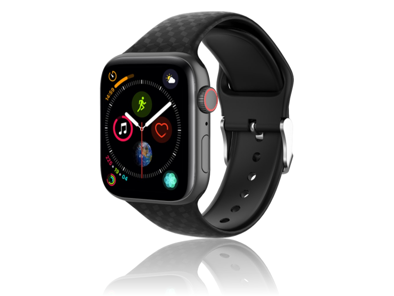 Image of   Diamond Silicone rem til Apple Watch Series 1 / 2 / 3 / 4 / 5 - 42 / 44mm