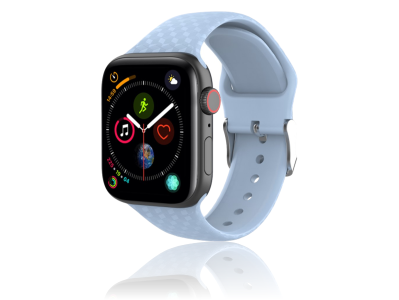 Image of   Diamond Silicone rem til Apple Watch Series 1 / 2 / 3 / 4 / 5 - 38 / 40mm