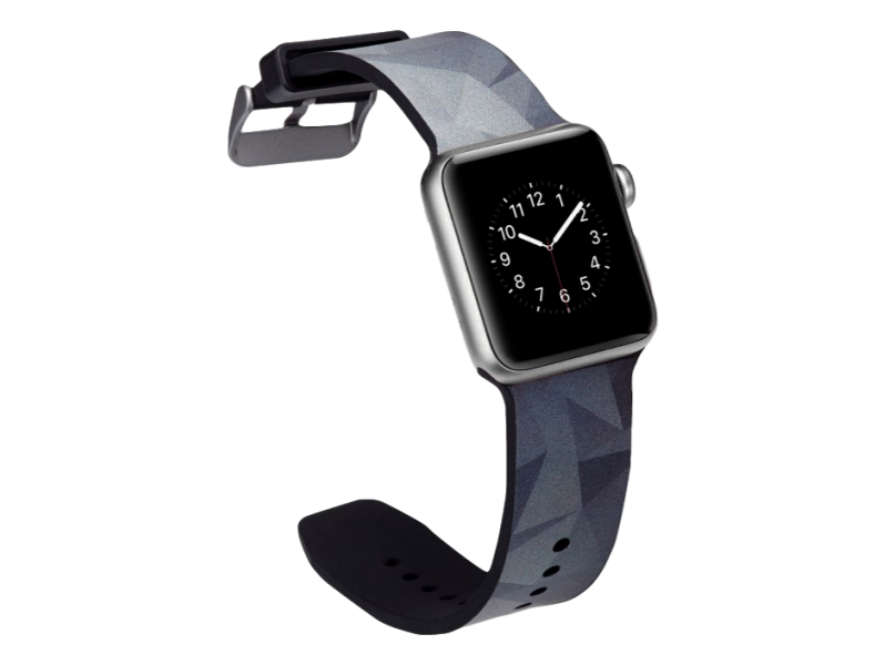 Image of   Crocus rem til Apple Watch Series 1 / 2 / 3 / 4 - 42 / 44mm-Grå