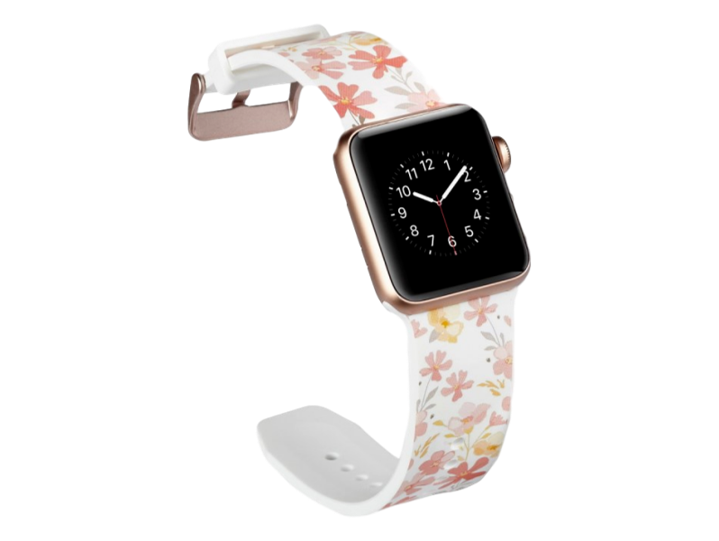 Image of   Crocus rem til Apple Watch Series 1 / 2 / 3 / 4 - 38 / 40mm-Hvid
