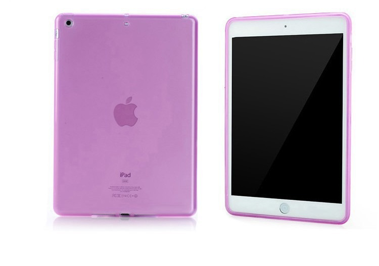 TPU Cover til iPad Air 1 / 2-Pink-iPad Air 1