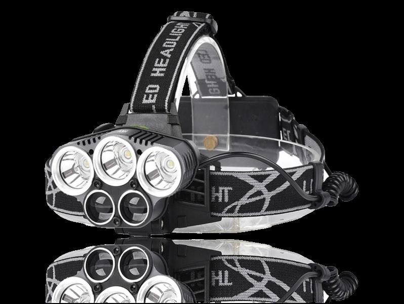 Image of   5000 Lumen Pandelampe m/ 5 LED-Pærer