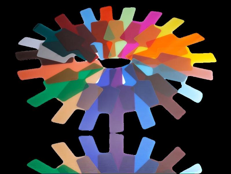 Image of   20x Farve Filtre til Speedlight