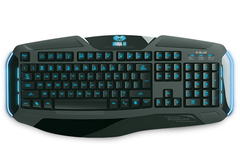 Image of   E-Blue Cobra II Gaming Tastatur m.Nordisk layout