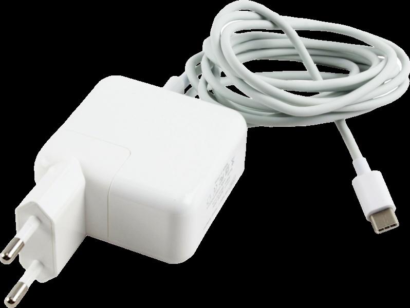 """61W Oplader til Macbook Pro 13"""" Ultimo 2016-19 A1706/A1708"""