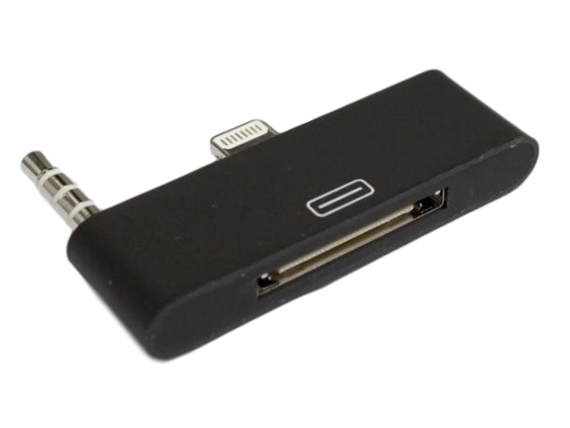Image of   iPhone 4 til iPhone 5 adapter m/lyd