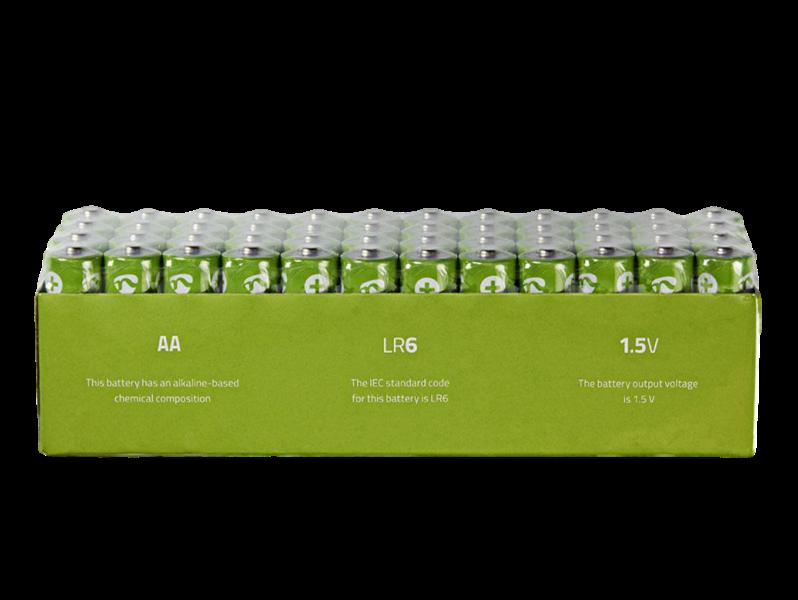 Image of   48-Pak AA Batterier
